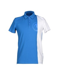 Bikkembergs Polo Shirts Blue