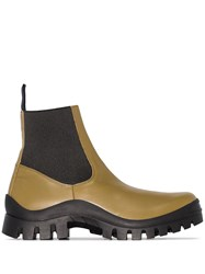 Atp Atelier Catania Chunky Ankle Boots Black