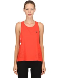 Under Armour Perpetual Woven Performance Tank Top Red