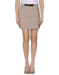 Blumarine Mini Skirts Sand