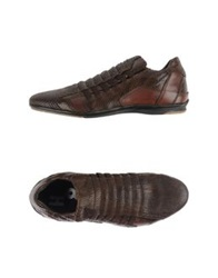 Alexander Hotto Low Tops And Trainers Dark Brown