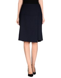 Gattinoni Skirts Knee Length Skirts Women Dark Blue