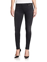 3X1 Asymmetrical Seamed Mid Rise Skinny Jeans