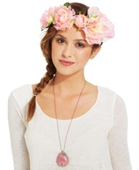 Collection Xiix Rose And Carnation Headwrap Sunkissed