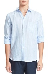 Men's Vilebrequin 'Carrix' Trim Fit Stripe Linen Shirt