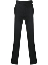 Tom Ford Straight Leg Tailored Trousers Black