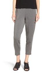 Eileen Fisher Women's Stretch Fleece Tapered Ankle Pants