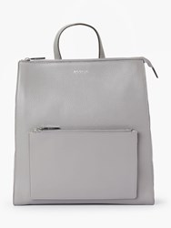 Modalu Hensley Leather Backpack Grey