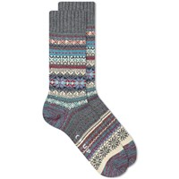 Chup By Glen Clyde Company Fiddle Sock Grey