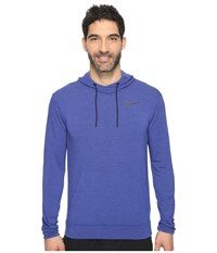 Nike Dry Training Hoodie Deep Royal Blue Black Men's Sweatshirt