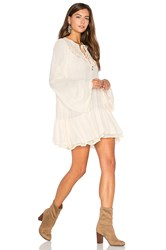 Free People One Night Victorian Dress Ivory