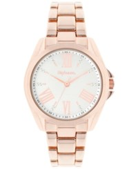 Styleandco. Style And Co. Women's Rose Gold Tone Bracelet Watch 39Mm Sy036rg Rosegold