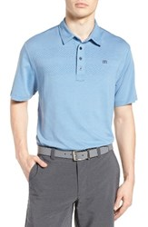Travis Mathew Men's Aleman Trim Fit Stripe Polo