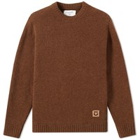 Folk X The Inoue Brothers Native Crew Knit Brown