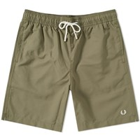 Fred Perry Textured Swim Short Green