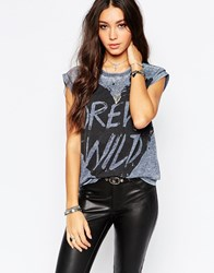Pepe Jeans Benny Forever Wild T Shirt Blue