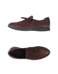 Armani Collezioni Footwear Moccasins Men Dark Brown