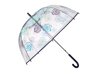 Vera Bradley Auto Open Bubble Umbrella Katalina Blues Umbrella