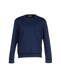 Balenciaga Topwear Sweatshirts Men Dark Blue