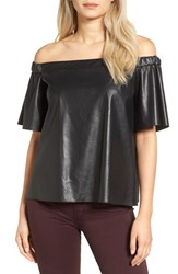 Bailey 44 Women's Cindy Faux Leather Top