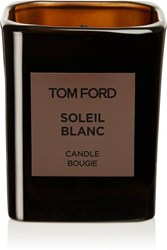 Tom Ford Beauty Private Blend Soleil Blanc Scented Candle Colorless