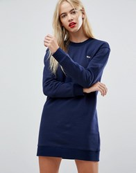 Tommy Jeans Classics Sweat Dress Black Iris Navy