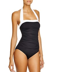 Lauren Ralph Lauren Bel Aire Maillot One Piece Swimsuit