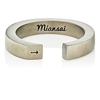Miansai Men's Ipsum Ring Black Blue Black Blue