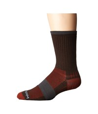 Wrightsock Dl Escape Crew Coffee No Show Socks Shoes Brown