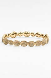Women's Melinda Maria 'Margaret' Pod Bangle Gold Clear