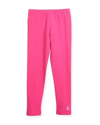Joules Cotton Stretch Leggings Pink