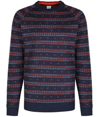 Bench Fastalker Slim Crew Neck Knit Total Eclipse