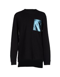 D By D Topwear Sweatshirts Men Black