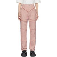 Ambush Pink High Waisted Jeans