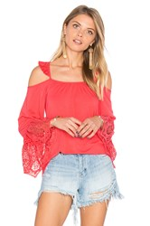 Vava By Joy Han Paula Top Coral