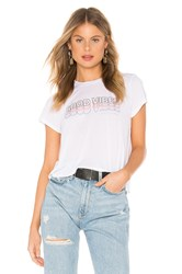 Spiritual Gangster Good Vibes Active Crop Tee White