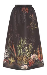 Red Valentino Underwater A Line Skirt Black