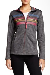 Helly Hansen Graphic Fleece Jacket Gray