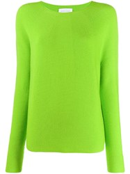 Christian Wijnants Long Sleeve Fitted Sweater Green