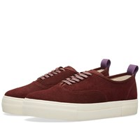 Eytys Mother Suede Sneaker Burgundy