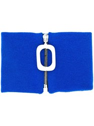 J.W.Anderson Jw Anderson Knitted Neckband Blue