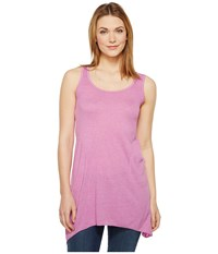 Allen Allen Scoop Neck Angled Tunic Posy Women's Sleeveless Pink