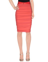Elisabetta Franchi Skirts 3 4 Length Skirts Women Coral