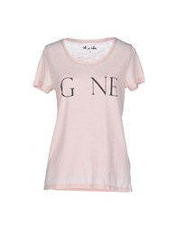 Only Topwear T Shirts Women Light Pink