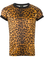 Jean Paul Gaultier Vintage Leopard Print T Shirt Nude And Neutrals