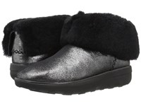 Fitflop Mukluk Shorty 2 Shimmer Boot Black Women's Boots