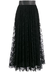 Christopher Kane Crystal Lace Pleated Skirt 60