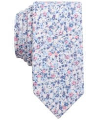 Bar Iii Men's Dandy Floral Tie Only At Macy's Pink