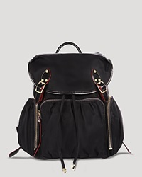 M Z Wallace Mz Wallace Backpack Marlena Black Gold