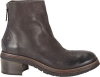 Marsell Back Zip Ankle Boots Black